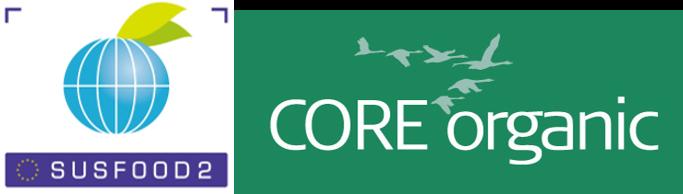 logos SUSFOOD and Core Organic